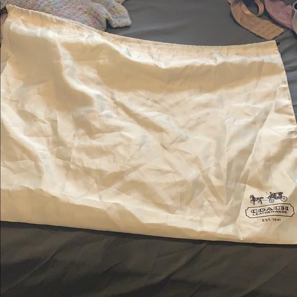 Coach Dust Bag